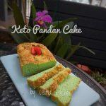 Keto Pandan Cake