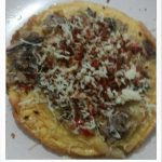 Pizza toping ikan tongkol ala Shinta