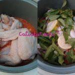 Ayam Kuah Asam Pedas ala Calista
