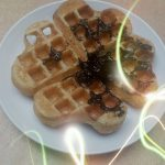 Waffle keto ala Hanny