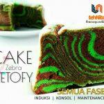 Cake Zebra Ketofy ala Nita