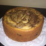 Cake Marmer Ketofy ala Rachma