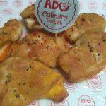 Pumpkin Chicken Cordon Bleu ala Ado