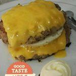 Burger tanpa roti ala Lina