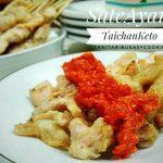 Sate Ayam Taichan Keto ala Nita
