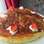 Strawberry Japannese Cheese Cake ala Ce En