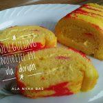 Bolu Gulung Nutrijel Isi Vla Durian ala Erma
