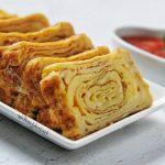 Telur Dadar Gulung Gulung (Tamagoyaki) ala Nita