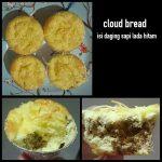 Cloud Bread isi Daging Sapi ala Nourma