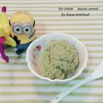 Matcha Almond Ice Cream ala Yurdiana