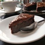 Chocavado Espresso Brownies with Avocado Frosting ala ‎Ferry