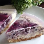 Blueberry Cheese Cake ala Nano