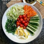 Wakame Salad with Wafu dressing ala Rini
