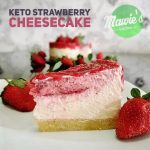Keto Strawberry Cheesecake ala ‎Dewi