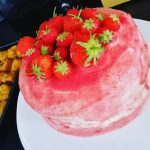Vanilla Strawberry Spongecake ala ‎Fisti