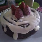 Chocolate Cake Flourless ala Anita Putri