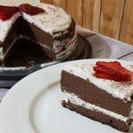 Choco Cheese Mascarpone Cake ala AtikMaya