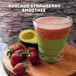 Avocado Strawberry Smoothie ala ‎Stefanie