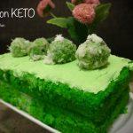 Cake Klepon Keto ala Yuyun